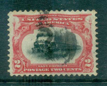 USA 1901 Sc#295 2c Pan-American Exposition FU lot67221