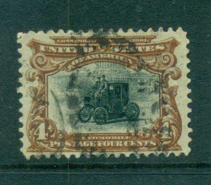 USA 1901 Sc#296 4c Pan-American Exposition FU lot67226