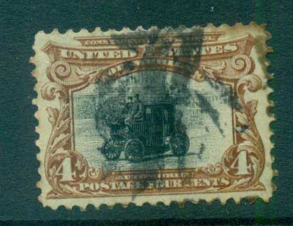 USA 1901 Sc#296 4c Pan-American Exposition FU lot67227