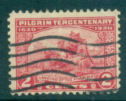 USA 1920 Sc#549 Pilgrim Tercentenary 2c FU lot67324