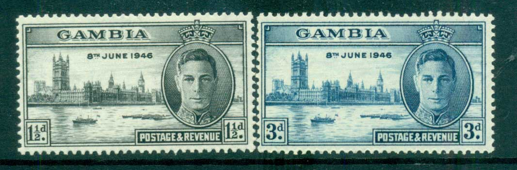 Gambia 1946 Victory MLH lot68242