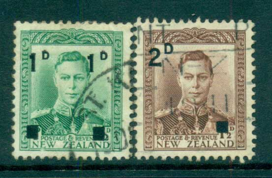 New Zealand 1941 Surcharges FU lot68350