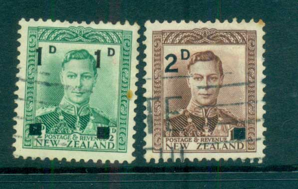New Zealand 1941 Surcharges FU lot68351