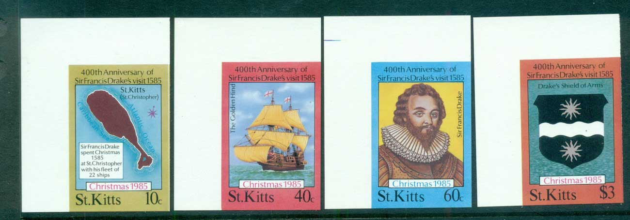 St Kitts 1985 Xmas IMPERF MUH lot68624