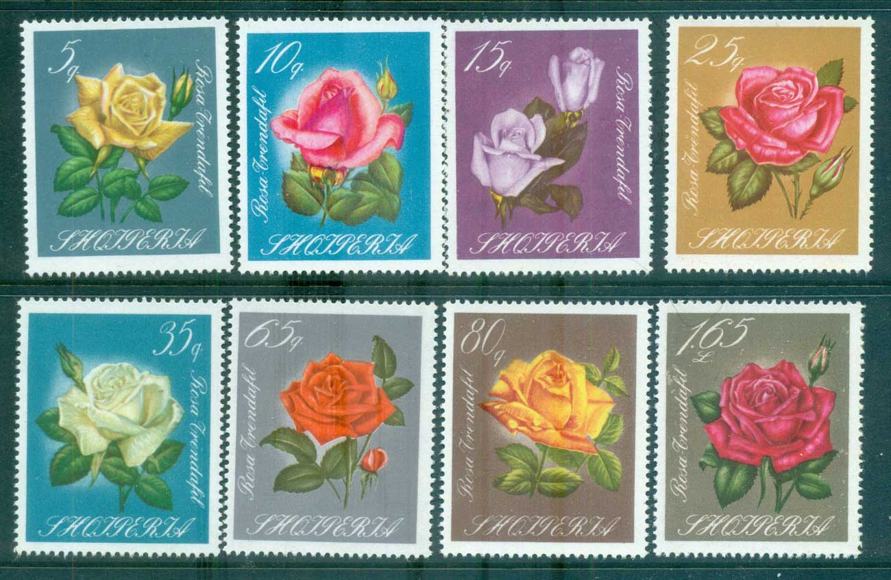 Albania 1967 Flowers, Roses MUH lot69598