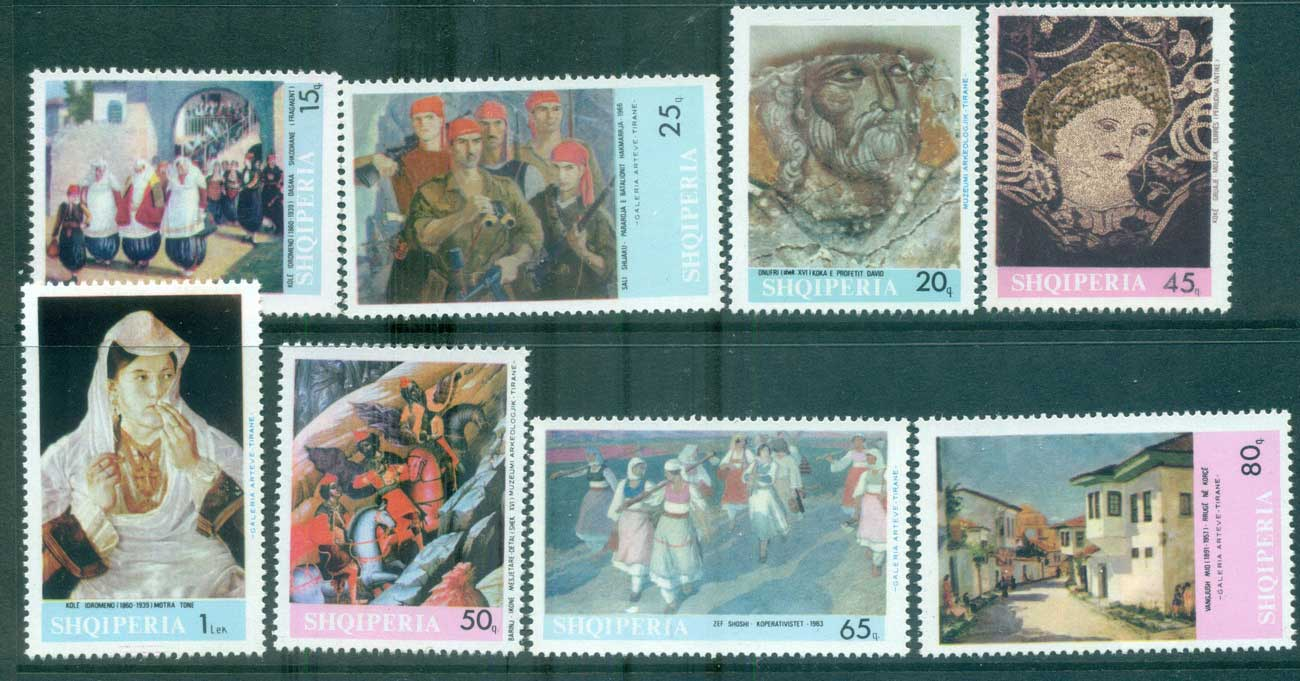 Albania 1967 Paintings MUH lot69608