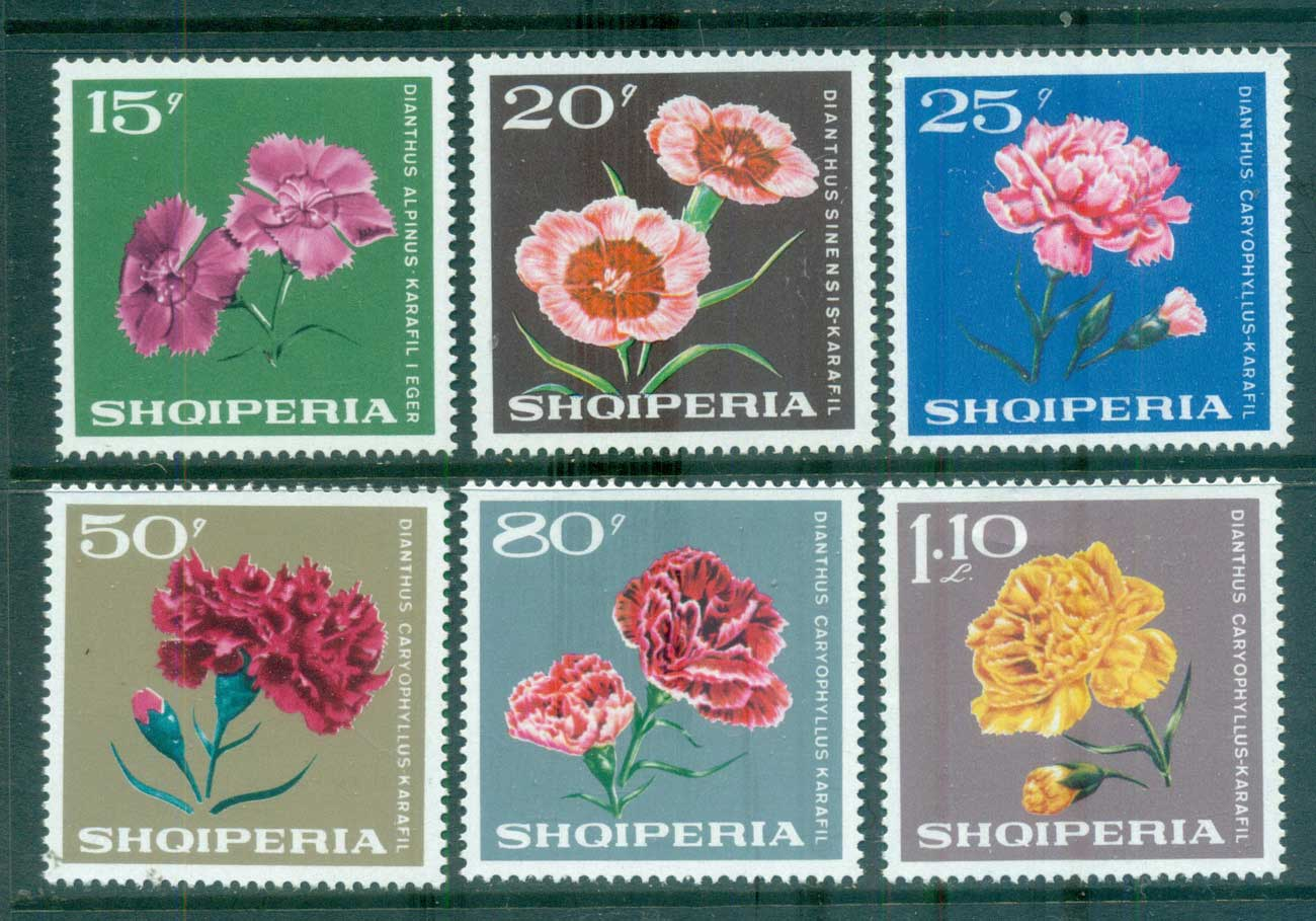 Albania 1968 Flowers MUH lot69627