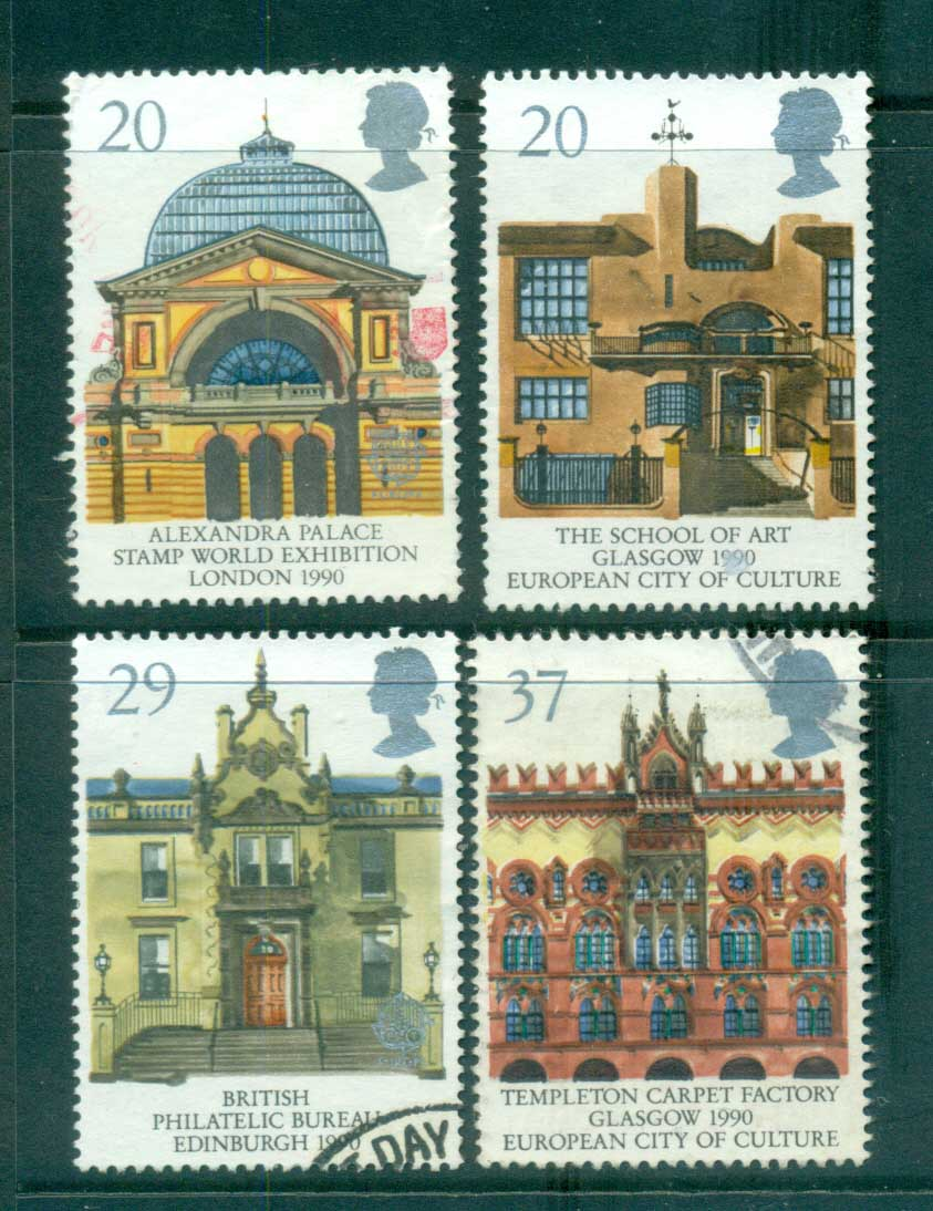 GB 1990 Europa, Architecture FU lot70240
