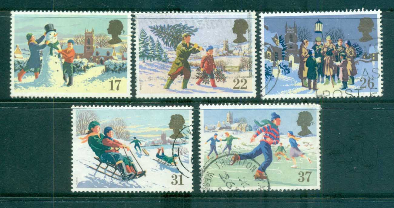 GB 1990 Xmas FU lot70244