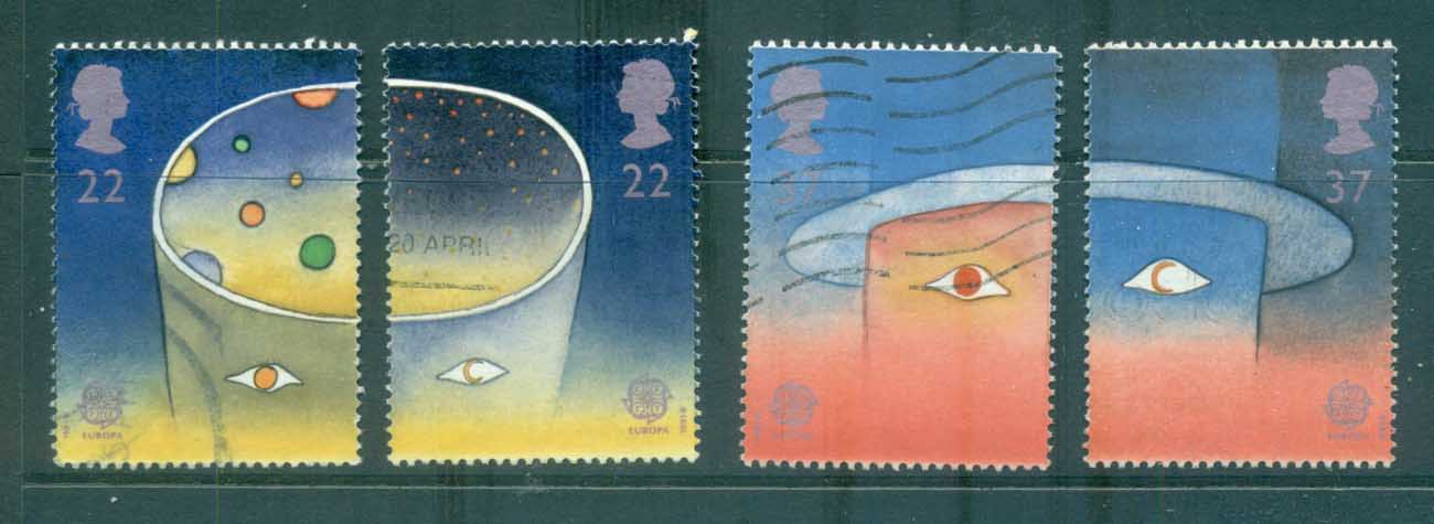 GB 1991 Europa FU lot70245
