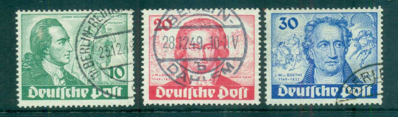 Germany Berlin 1949 Goethe & Iphigenie FU lot70384