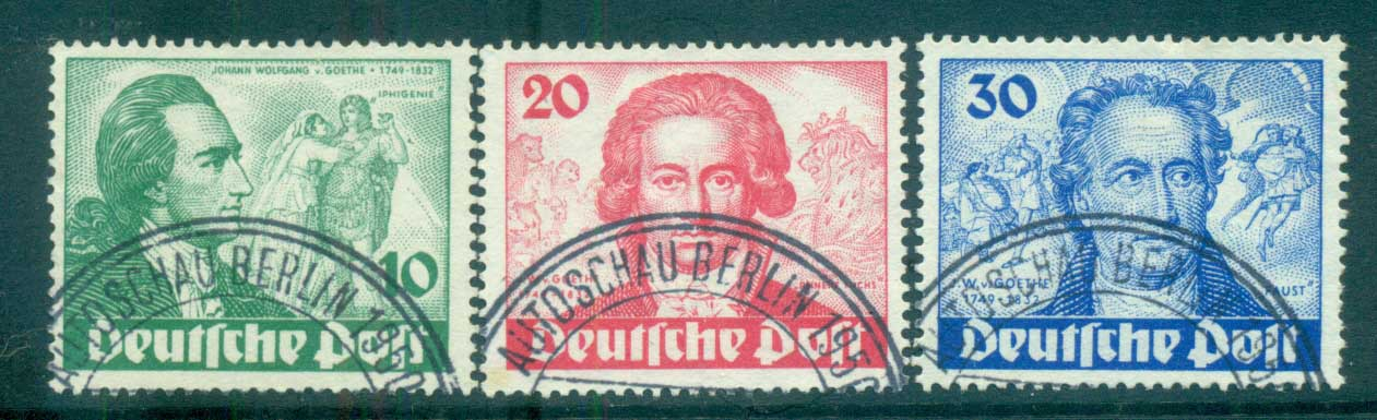 Germany Berlin 1949 Goethe & Iphigenie FU lot70385