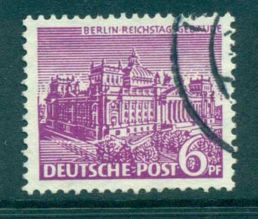 Germany Berlin 1949 Brandenburg Gate 6pf FU lot70390