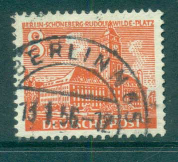 Germany Berlin 1949 Brandenburg Gate 8pf FU lot70391