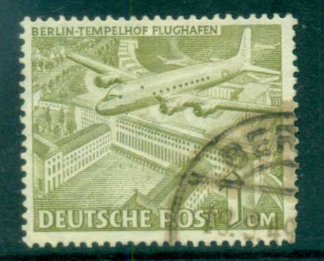 Germany Berlin 1949 Brandenburg Gate 1M FU lot70401