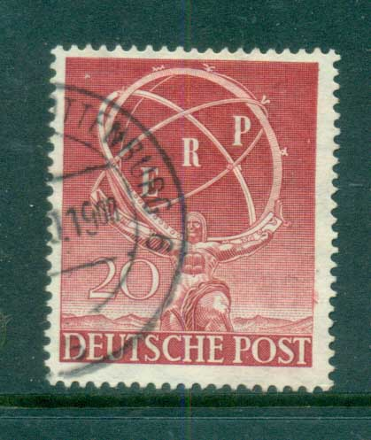 Germany Berlin 1950 European Recovery Plan FU lot70404