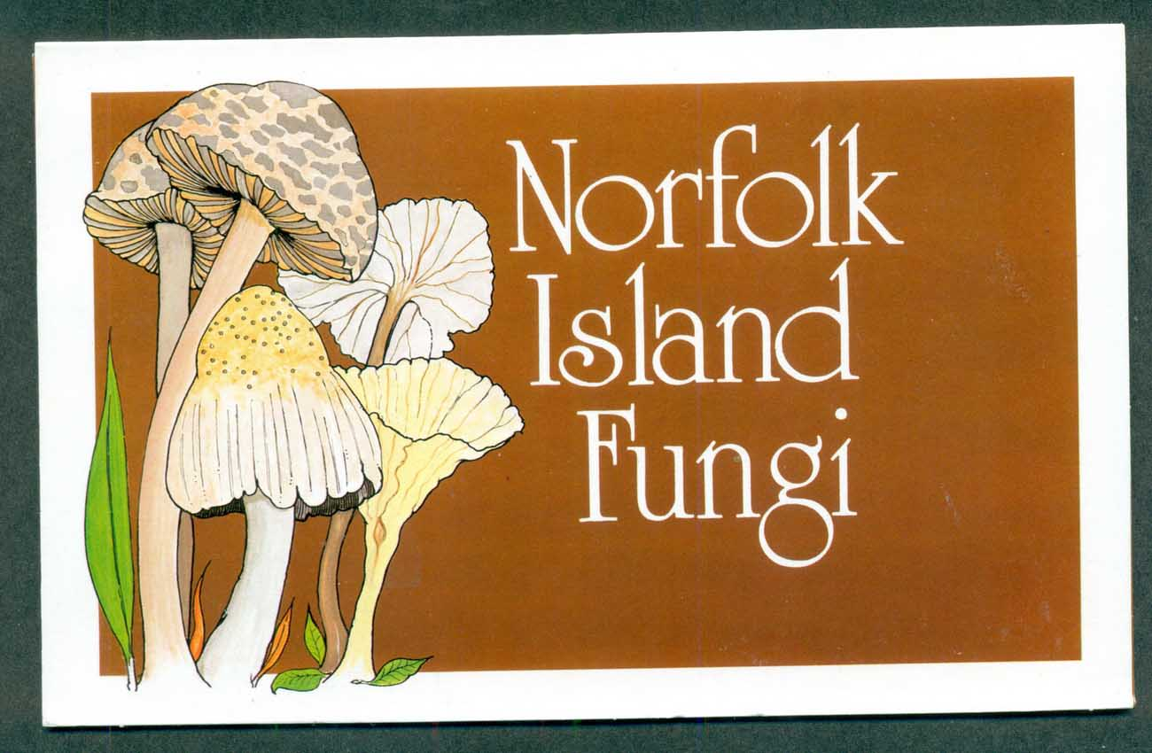 Norfolk Is 1983 Funghi Stamp Pack POP lot(xl)70797