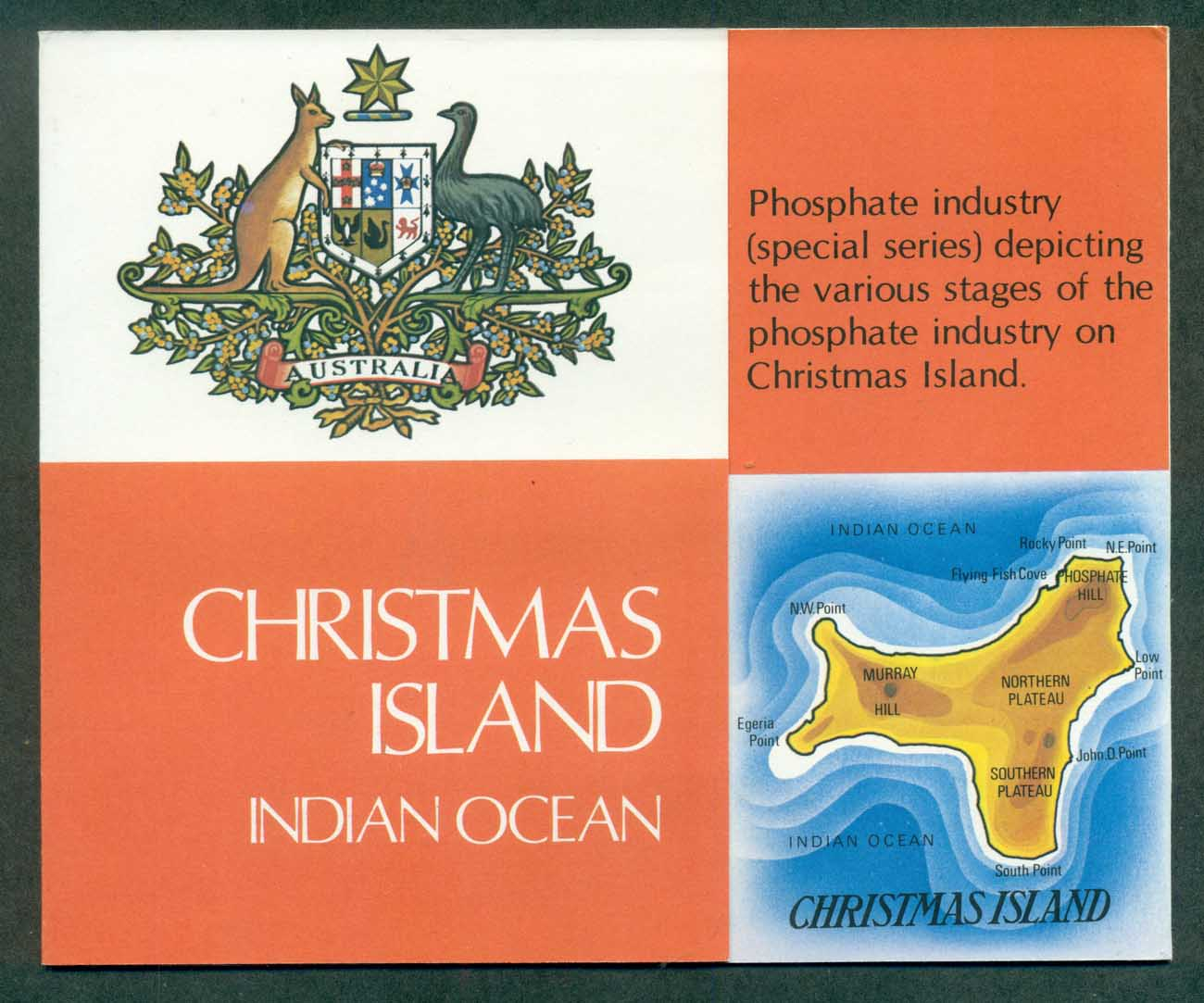 Christmas Is 1981 Phosphate Stamp Pack POP lot(xl)70802