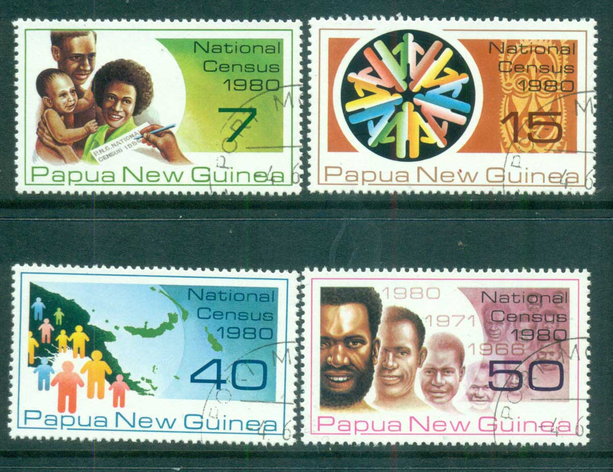 PNG 1980 National Census CTO lot71113