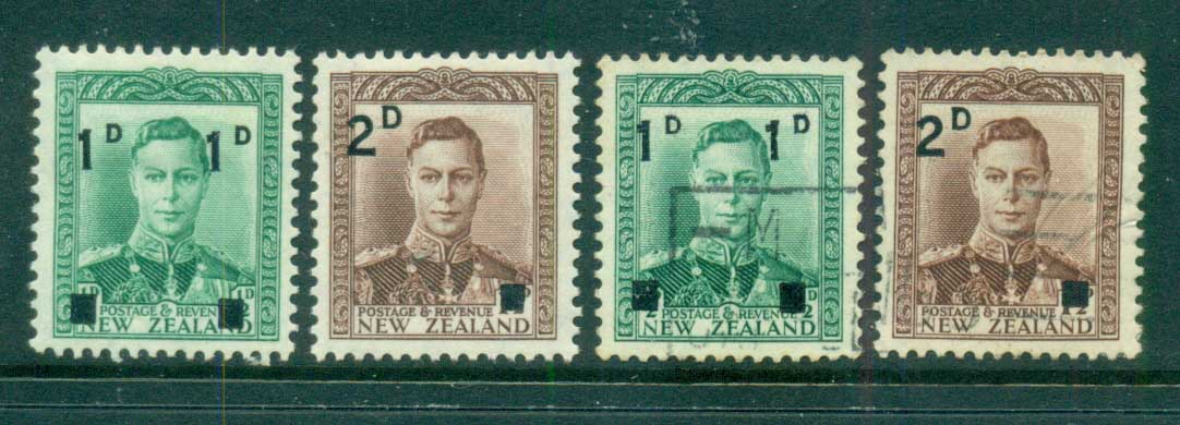 New Zealand 1941 Surcharges MLH/FU lot71555