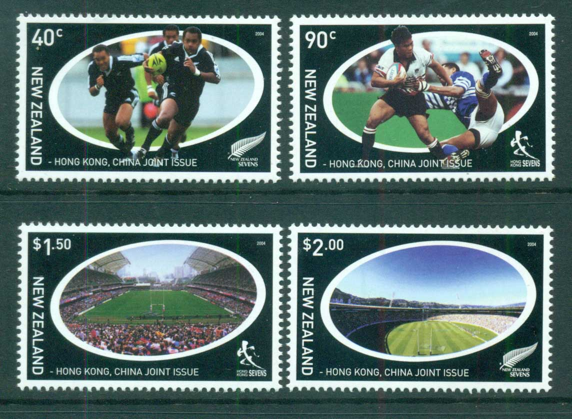 New Zealand 2004 Rugby Sevens MUH lot71659