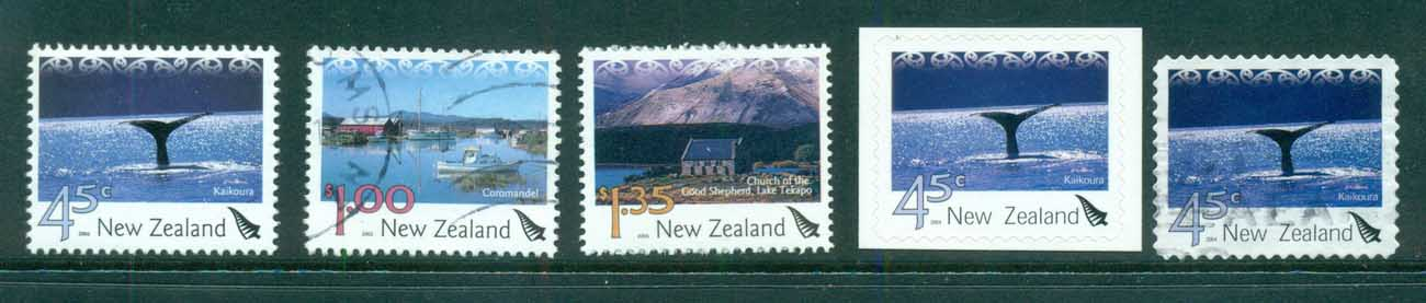 New Zealand 2004 Tourist Attractions Asst MUH/FU lot71662