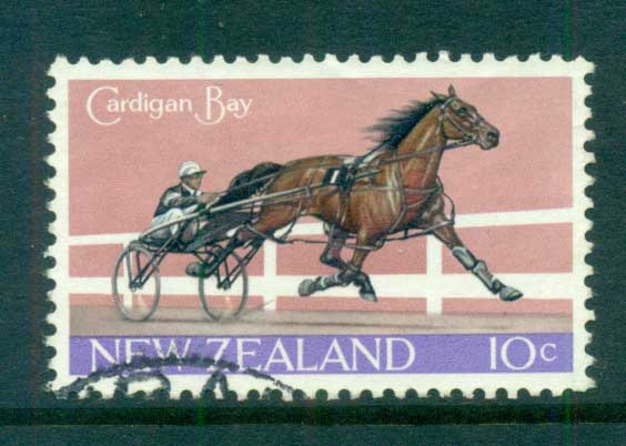 New Zealand 1970 Cardigan bay, Horse FU lot71700