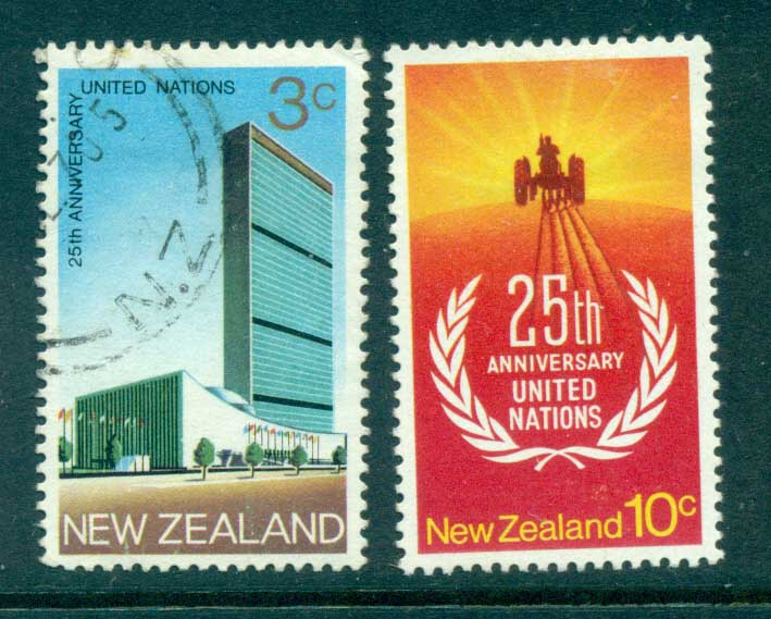 New Zealand 1970 UN headquarters FU lot71704