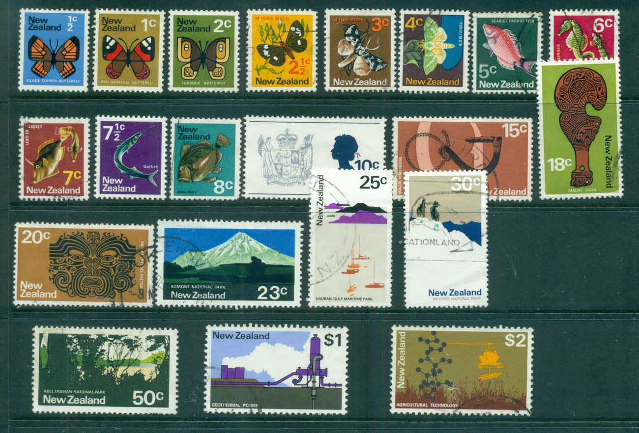 New Zealand 1970-71 Pictoral defins FU lot71705