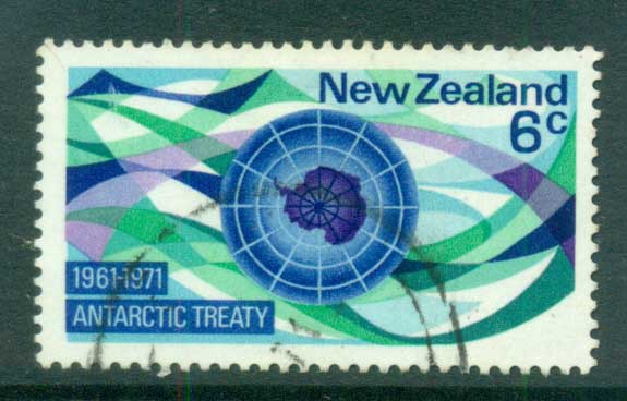 New Zealand 1971 Antarctic Treaty FU lot71713