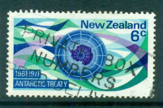New Zealand 1971 Antarctic Treaty FU lot71714