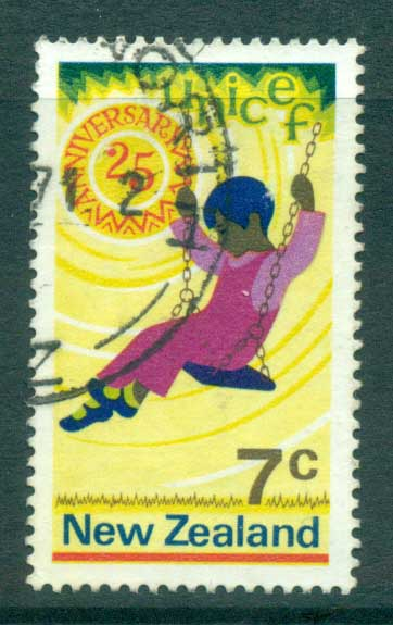 New Zealand 1971 UNICE FU lot71715
