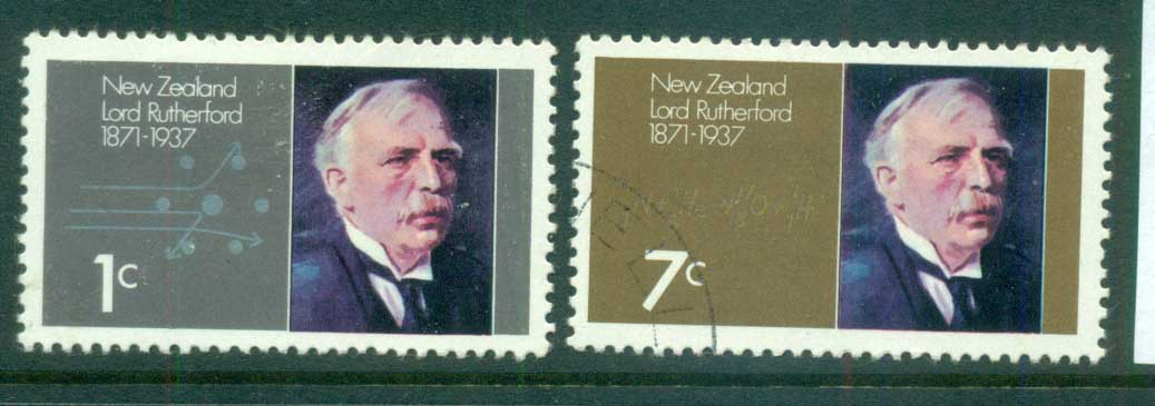 New Zealand 1971 Lord Rutherford FU lot71721
