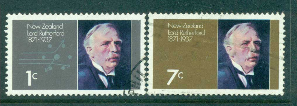 New Zealand 1971 Lord Rutherford FU lot71722