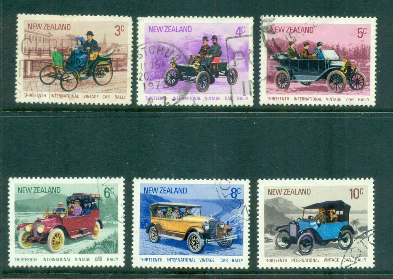 New Zealand 1972 Vintage cars FU lot71723