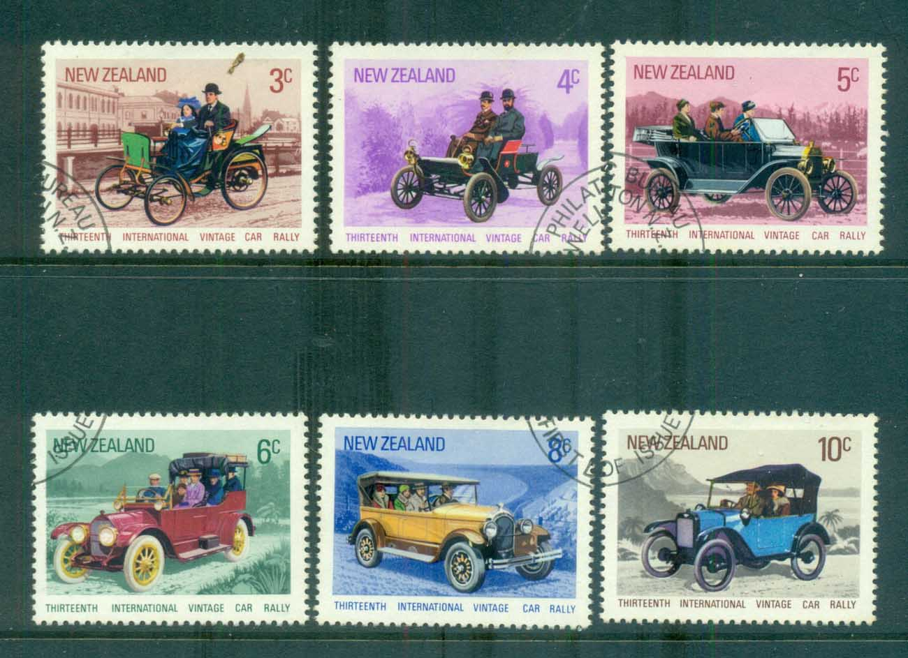 New Zealand 1972 Vintage cars FU lot71724