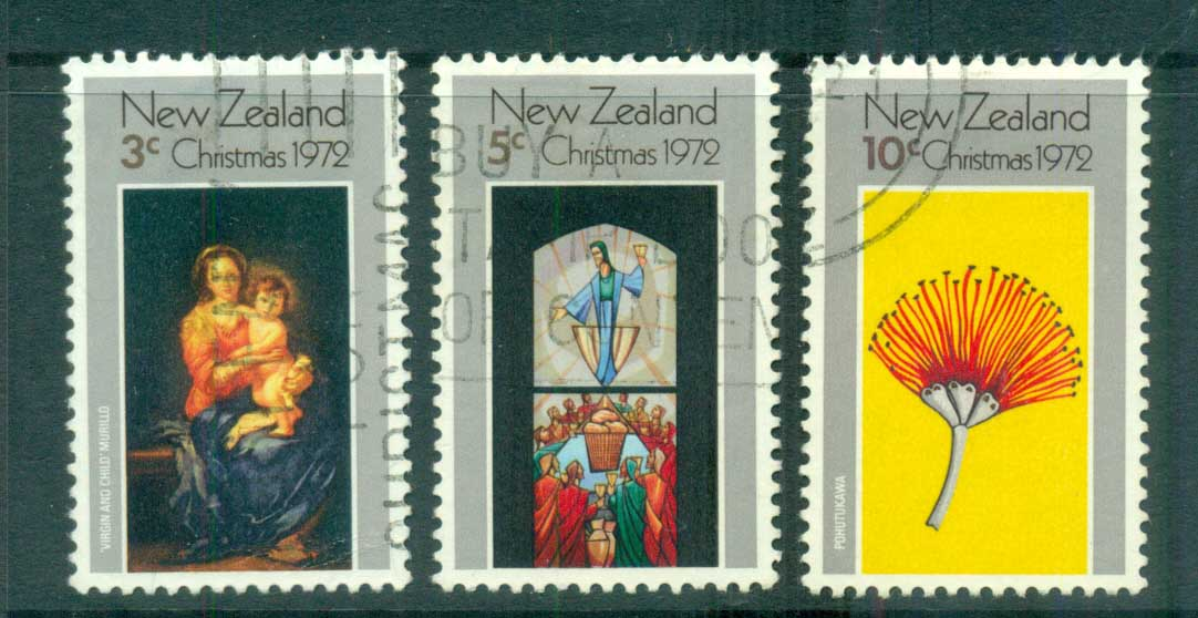 New Zealand 1972 Xmas FU lot71727