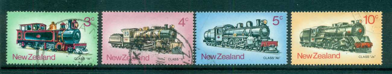 New Zealand 1973 Trains FU lot71732