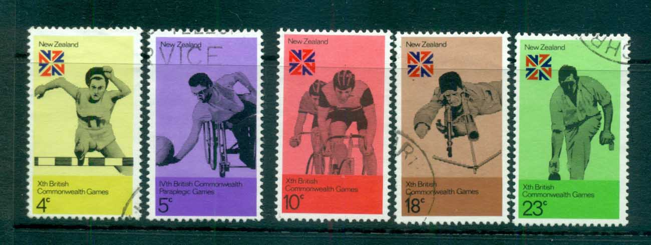 New Zealand 1974 Commonwealth Games FU lot71736