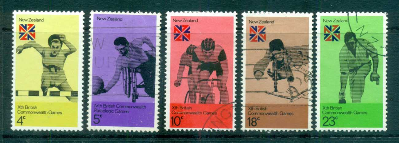 New Zealand 1974 Commonwealth Games FU lot71737