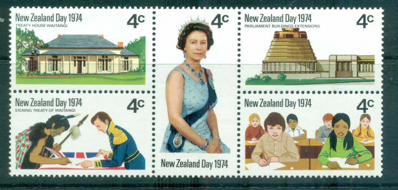 New Zealand 1974 New Zealand day Blk MLH lot71738