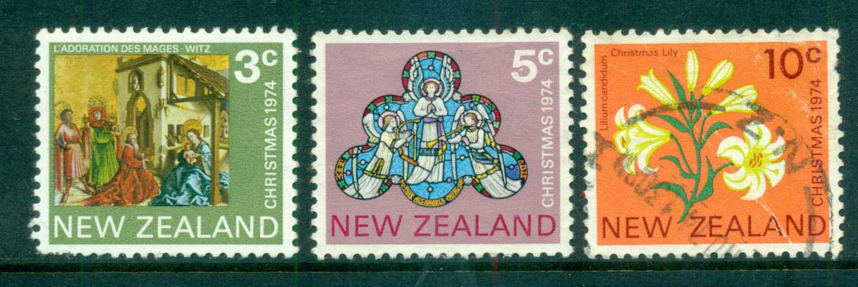 New Zealand 1974 Xmas FU lot71744