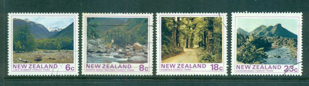 New Zealand 1975 Views, State Forest Parks FU lot71748
