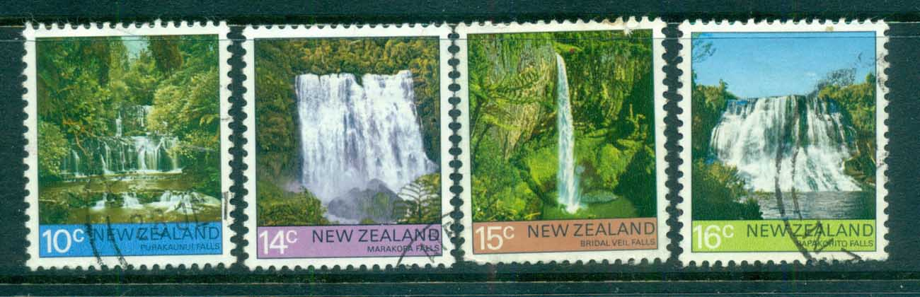 New Zealand 1976 Views, Waterfalls FU lot71761