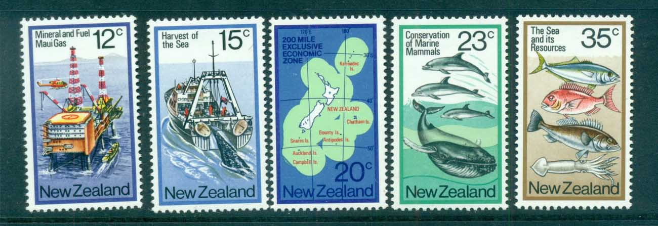 New Zealand 1978 The Sea & it's Resources MLH lot71775