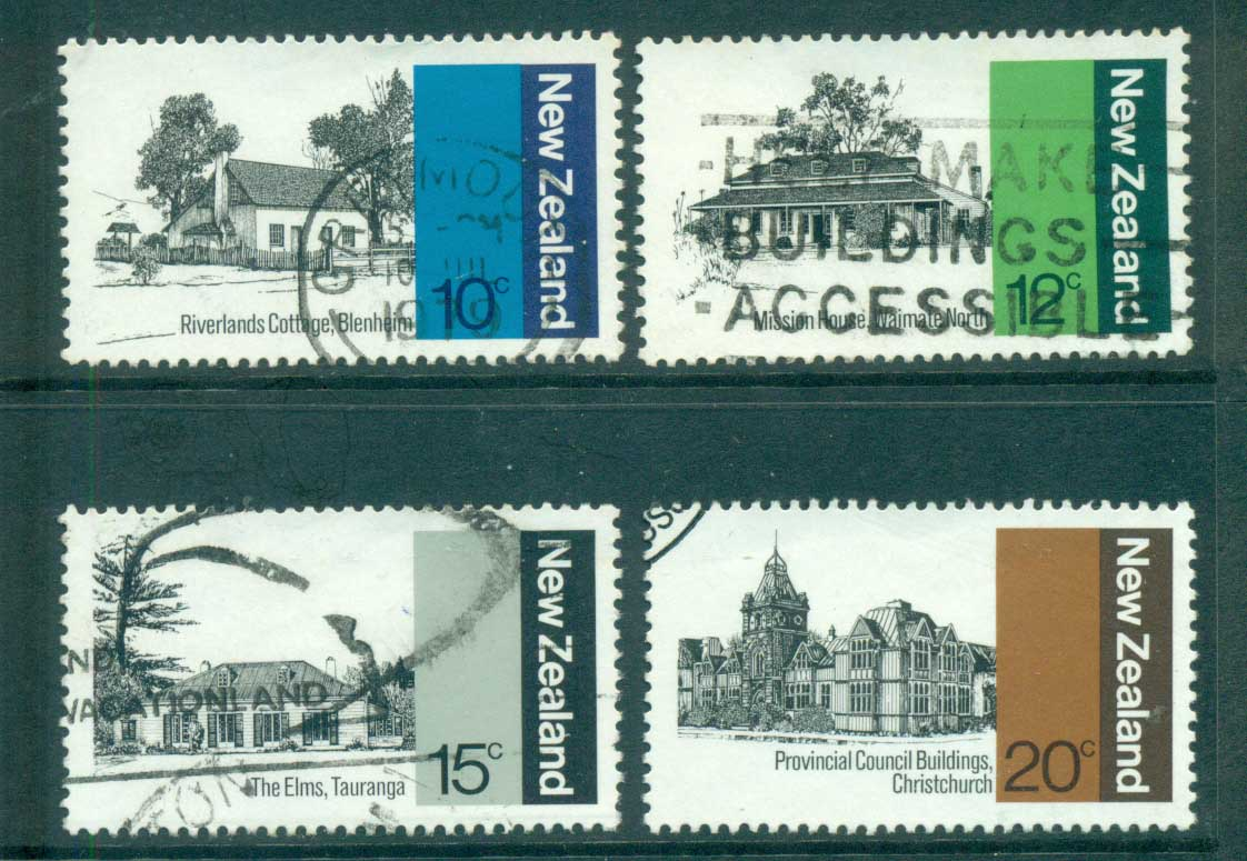 New Zealand 1979 early NZ Architecture FU lot71782