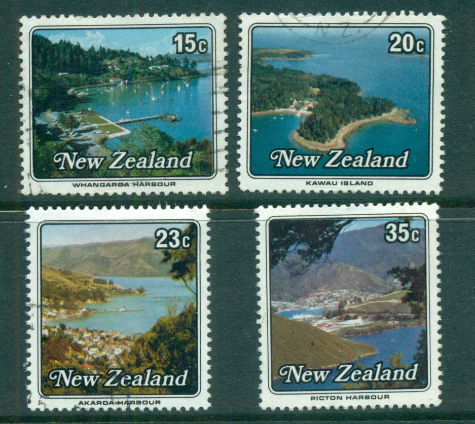 New Zealand 1979 Views, Small harbours FU lot71784