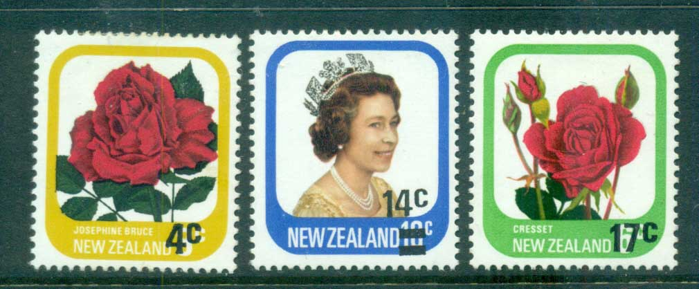 New Zealand 1979 Surcharges MLH lot71786