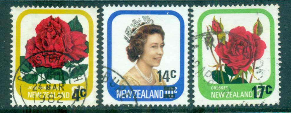 New Zealand 1979 Surcharges FU lot71787