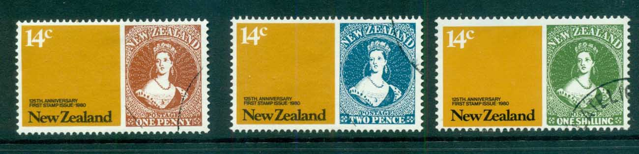 New Zealand 1980 Stamp Anniv FU lot71790